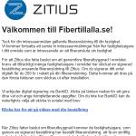 Beställ fiber hos Zitius 3