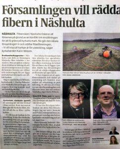 Eskilstuna-kuriren: Församlingen vill rädda fibern